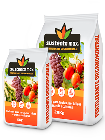 Sustenta max Fertilizante Organomineral
